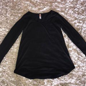 Long black sleeve